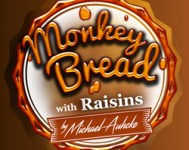 Monkey Bread with Raisins, by Michael Auhcke