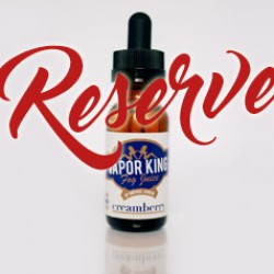 Creamberry Reserve, premium e-liquid from Vapor King Fog Juice