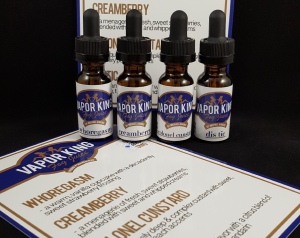 Vapor King Fog Juice Sample Kit
